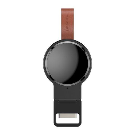 Baseus »Baseus Dotter Qi Wireless Charger Ladegerät Kabellos Laden magnetisch Pad kompatibel mit Apple Watch iWatch 1 / 2 / 3 / 4« Wireless Charger