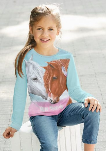 Miss Melody Langarmshirt für Pferde-Fans