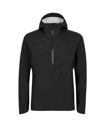 Mammut Hardshelljacke »Albula Half Zip HS Hooded Jacket Men« aus Recyclingpolyester