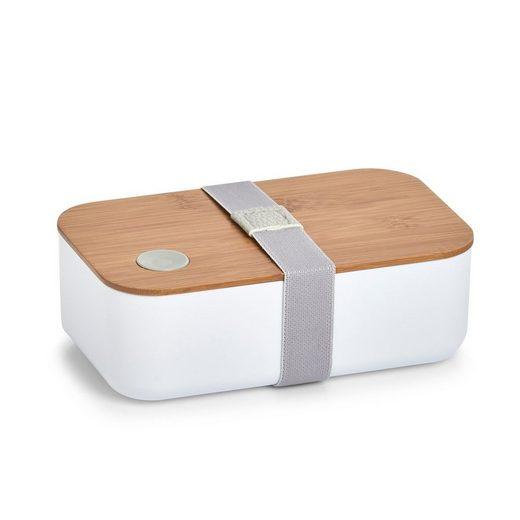 Zeller Present Lunchbox, Polyprophylen (PP), Bambus, Silikon, (1-tlg)