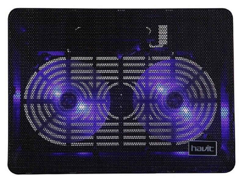 Havit Notebook-Kühler »Notebook Laptop Pad LED Kühler Cooler Kühlpad Ventilator Lüfter für 12 - 17 Zoll«