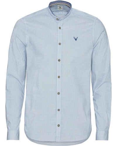 Pure Trachtenhemd »Stehkragenhemd«