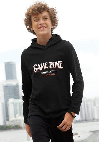 KIDSWORLD Marškinėliai su gobtuvu »GAME ZONE«