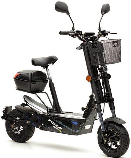 Forca E-Scooter »Bossman 2100 Safety Plus 45 km/h (inkl. Blinker + Gepcäck-Case + Lithium-Akku)«, 2100 W, 45 km/h