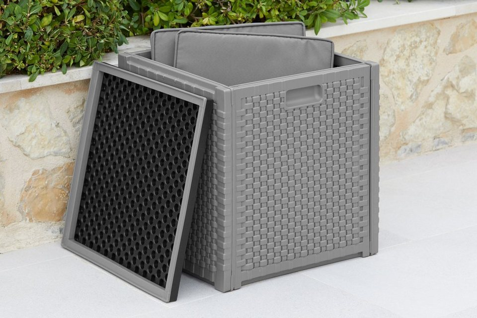 Garten Gut Kissenbox 160 Liter Kissenbox Zur Praktischen Und Schutzenden Aufbewahrung Von Sitzpolstern Fur Den Balkon Online Kaufen Otto