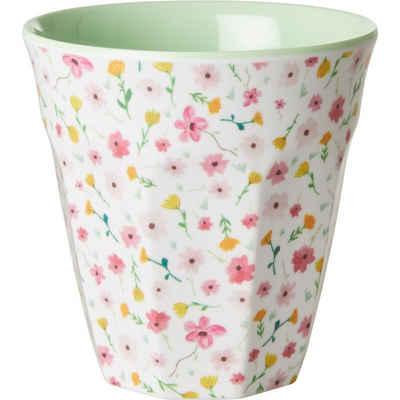 """rice Becher »Melamin Trinkbecher """"White Easter Flower"""", H9cm«"""