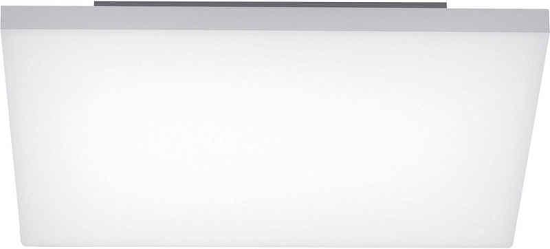 my home LED Deckenleuchte »MAILO«, rahmenloses Panel 45 x 45 cm, CCT-Lichtmanagement Farbtemperatursteuerung (2700K - 5000K), rahmenlos, Infrarot Fernbedienung, dimmbar, Memoryfunktion, flache Deckenlampe