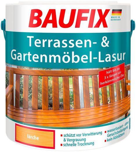Baufix Holzschutzlasur »Lärche«, 2,5 Liter, natur