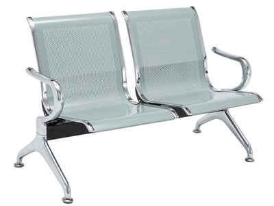 CLP Sitzbank »Wartebank Airport Metall«, pflegeleicht und komfortabel