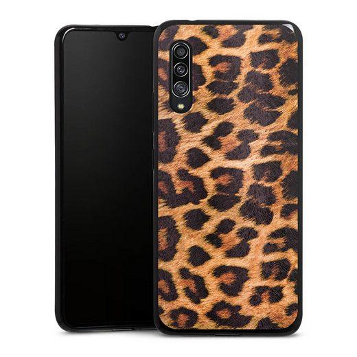 DeinDesign Handyhülle »Leo Print« Samsung Galaxy A90 5G, Hülle Leopard Fell Animalprint