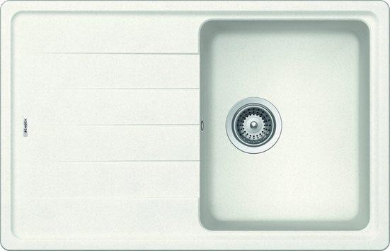 RESPEKTA Einbauspüle »COLUMBIA78X50B«, eckig