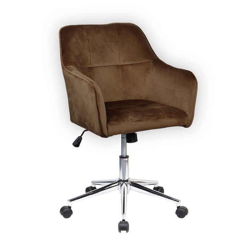 SVITA Chesterfield-Sessel »JAKE« (1-St., Drehsessel), bodenschonende Kunststoffrollen, stufenlos höhenverstellbar, pflegeleicht, elegant