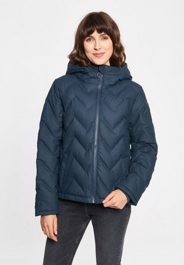 Derbe Steppjacke »Interlink Girls RC« Wasserabweisend, Winddicht, PFC frei, Wasserdichter Zipper, Badge am Ärmel, Innentasche