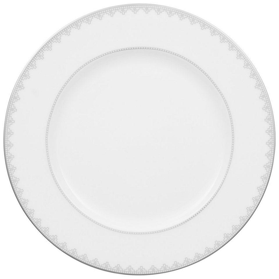 VILLEROY & BOCH Platte rund, flach »White Lace« in Dekoriert
