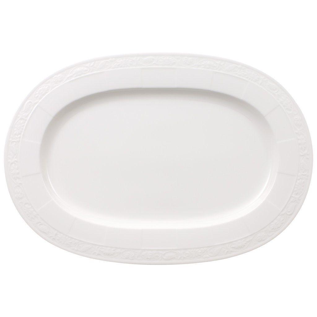 VILLEROY & BOCH Platte oval 41cm »White Pearl«