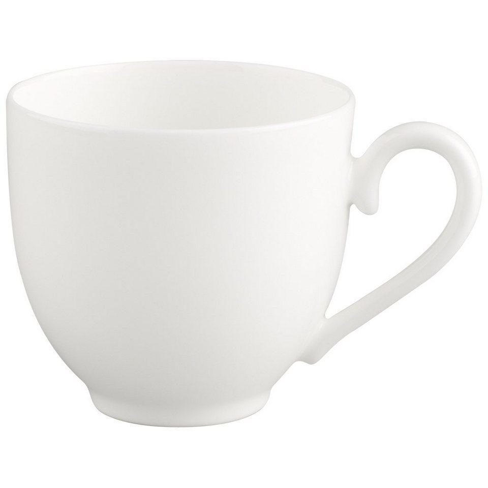VILLEROY & BOCH Mokka-/Espressoobertasse »White Pearl« in Weiss