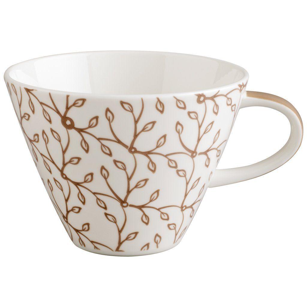 VILLEROY & BOCH Café au lait Obertasse »Caffè Club Floral caramel«
