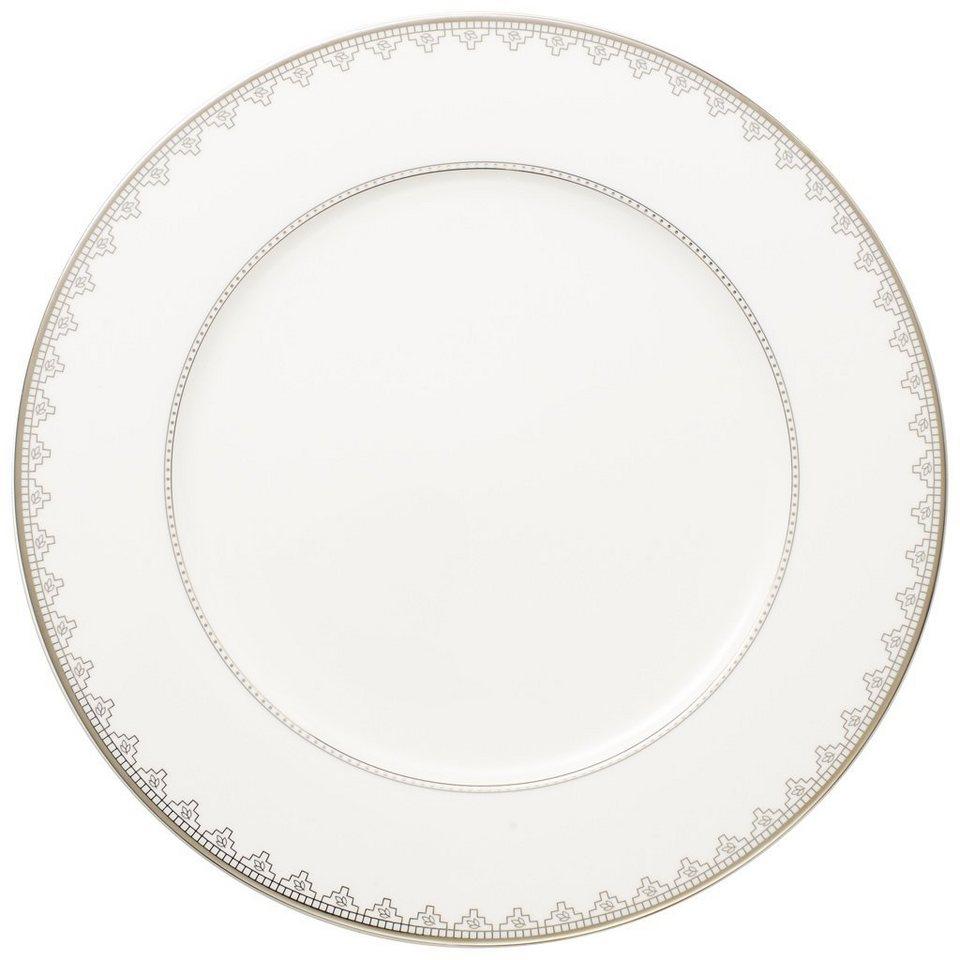 VILLEROY & BOCH Platzteller »White Lace« in Dekoriert