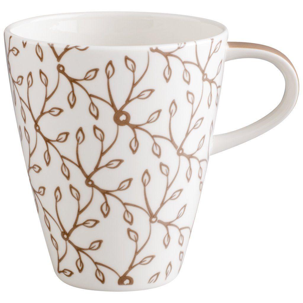 Villeroy & Boch Becher mit Henkel »Caffè Club Floral caramel«