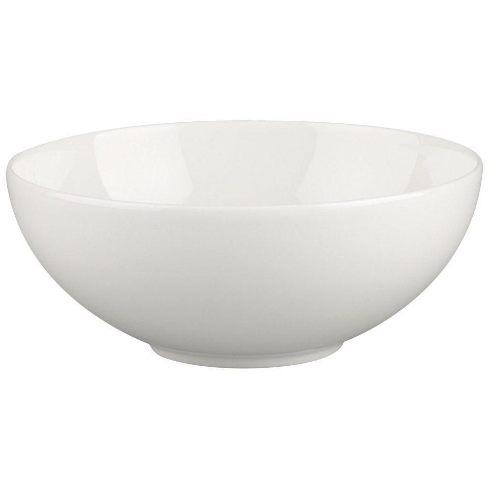 VILLEROY & BOCH Dessertschale »White Pearl« in Weiss