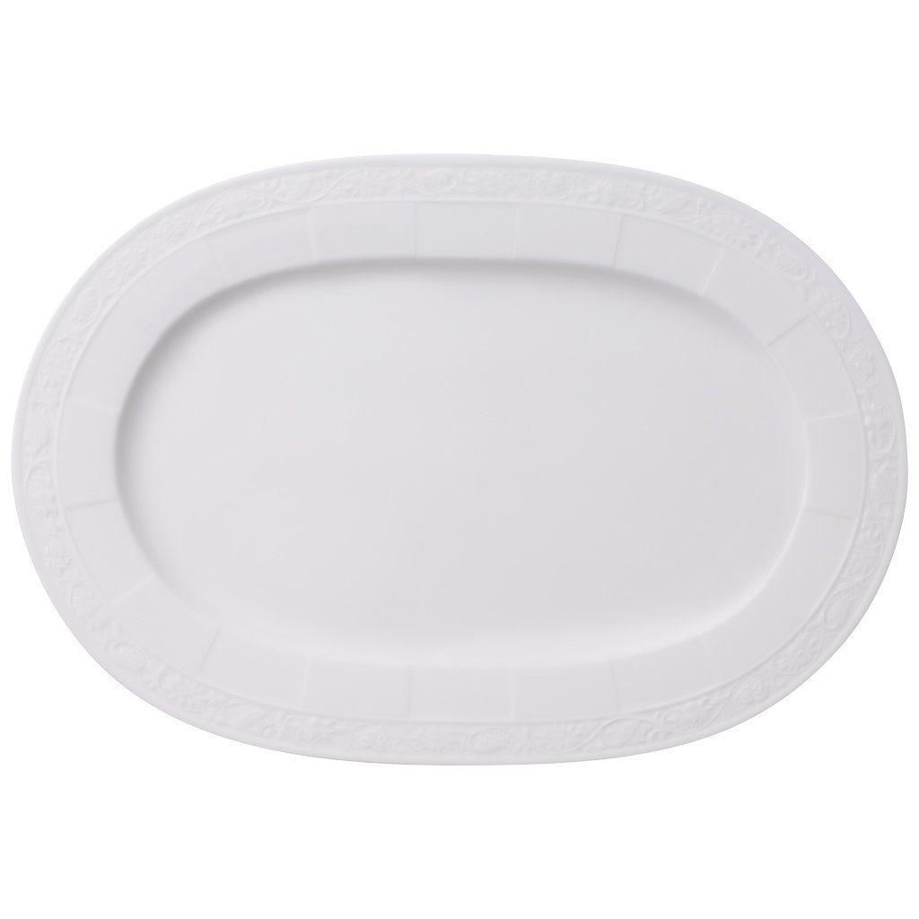 Villeroy & Boch Platte oval 35cm »White Pearl«