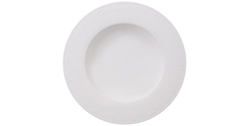 VILLEROY & BOCH Suppenteller »White Pearl«