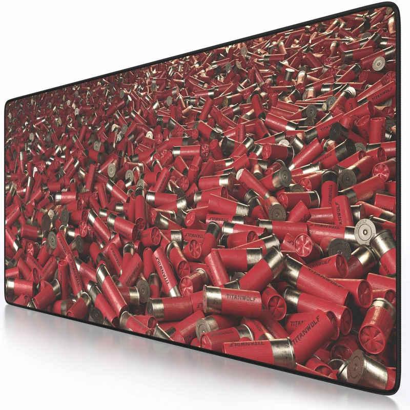 Titanwolf Gaming Mauspad, XXL Speed Gaming Mauspad aus glattem Stoffgewebe Mousepad 900 x 400mm große Fläche