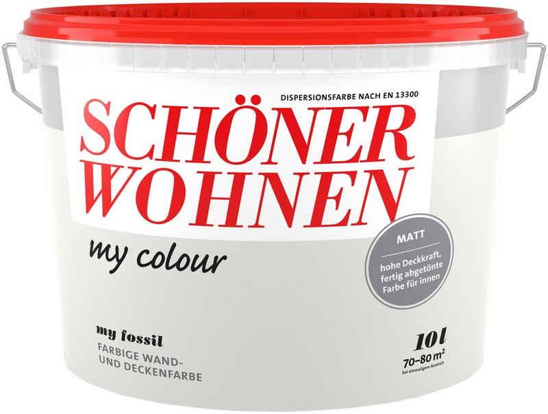 SCHÖNER WOHNEN-Kollektion Wand- und Deckenfarbe »my colour - my fossil«