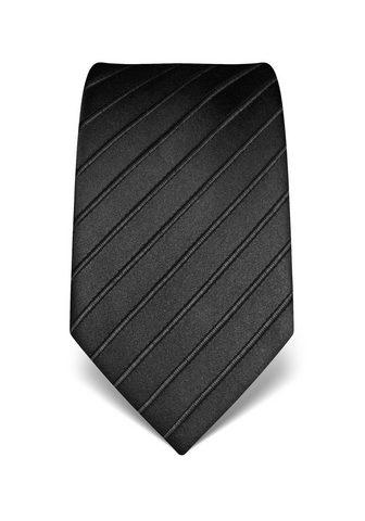 Vincenzo Boretti Šilkinis kaklaraištis su Ton-in-Ton-Mu...