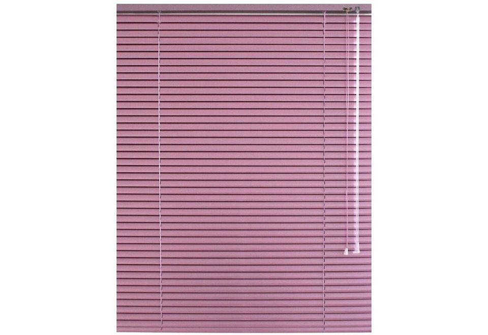 Aluminium-Jalousie, Sunlines, »Glitzer« im Wunschmaß (1 Stück) in rosa