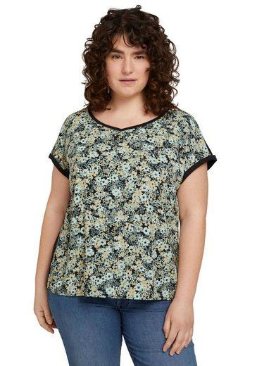TOM TAILOR MY TRUE ME Blusenshirt mit Blumenprint