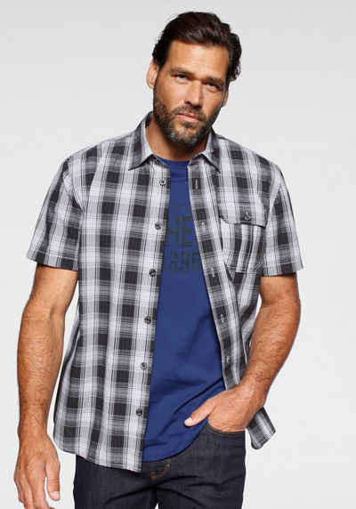 Man's World Kurzarmhemd (Set, 2-tlg., mit T-Shirt)