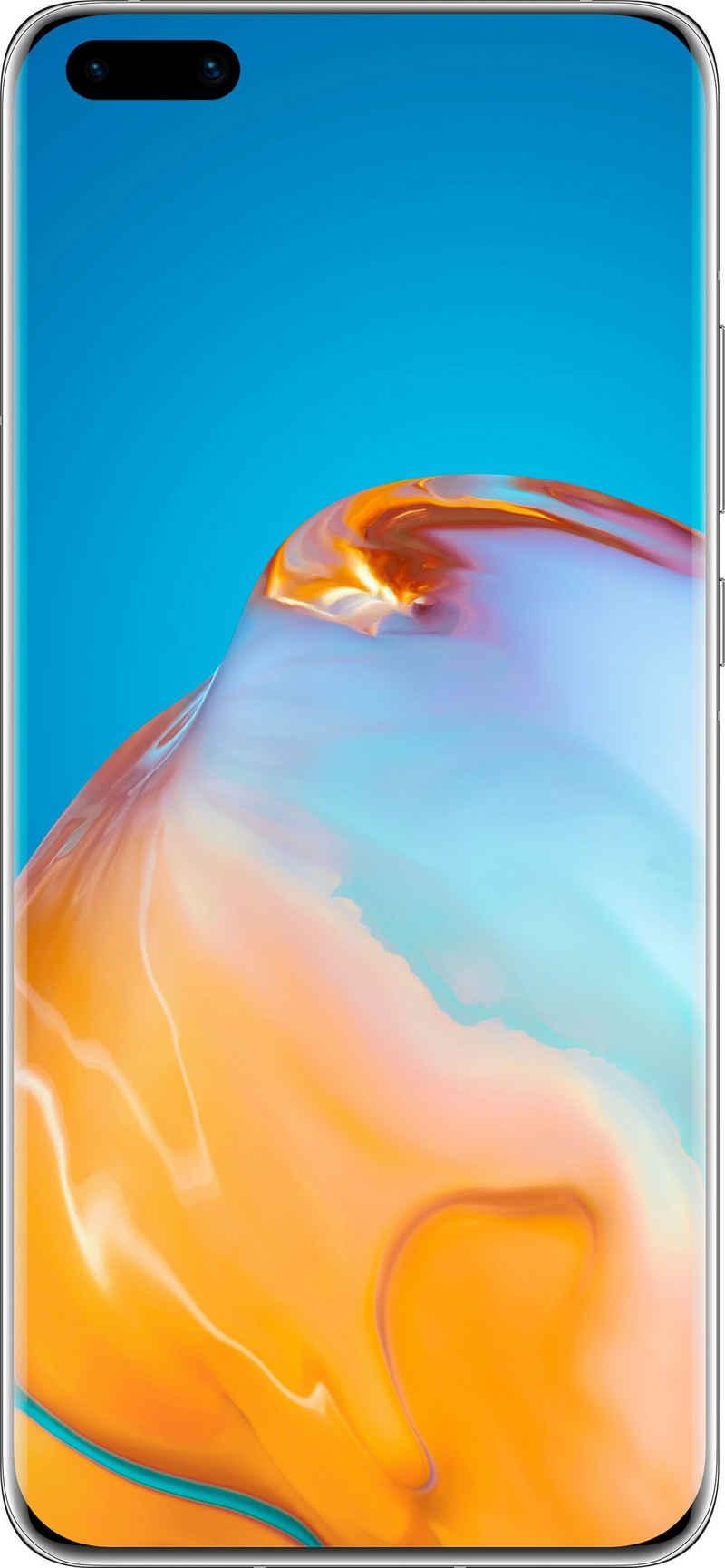 Huawei P40 Pro Smartphone (16,7 cm/6,58 Zoll, 256 GB Speicherplatz, 50 MP Kamera, 24 Monate Herstellergarantie)