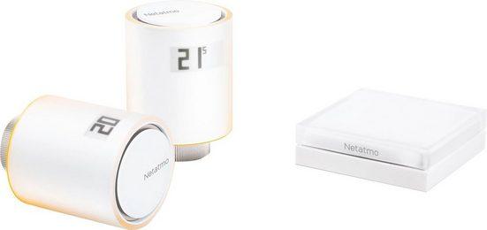 Netatmo »Smarte Heizkörperthermostate Starterpaket« Smartes Heizkörperthermostat