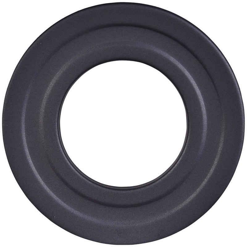 Firefix Rosette, Ø 100 mm, 1-St., starr, für Pelletofenrohr