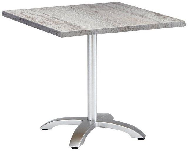 Tisch Montpellier silberfarben