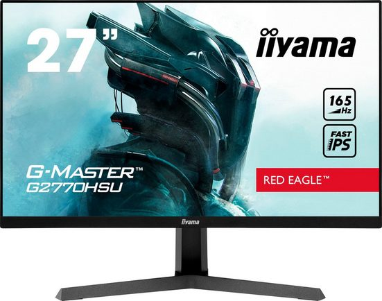 "Iiyama G2770HSU-B1 LED-Monitor (68,6 cm/27 "", 1920 x 1080 Pixel, Full HD, 0,8 ms Reaktionszeit, 165 Hz, IPS-LED)"