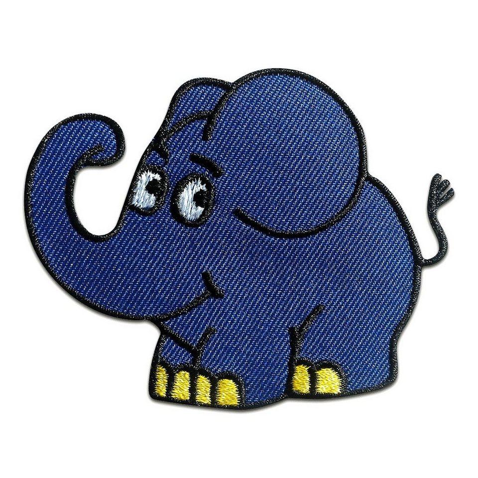 die sendung mit der maus aufnäher polyester elefant