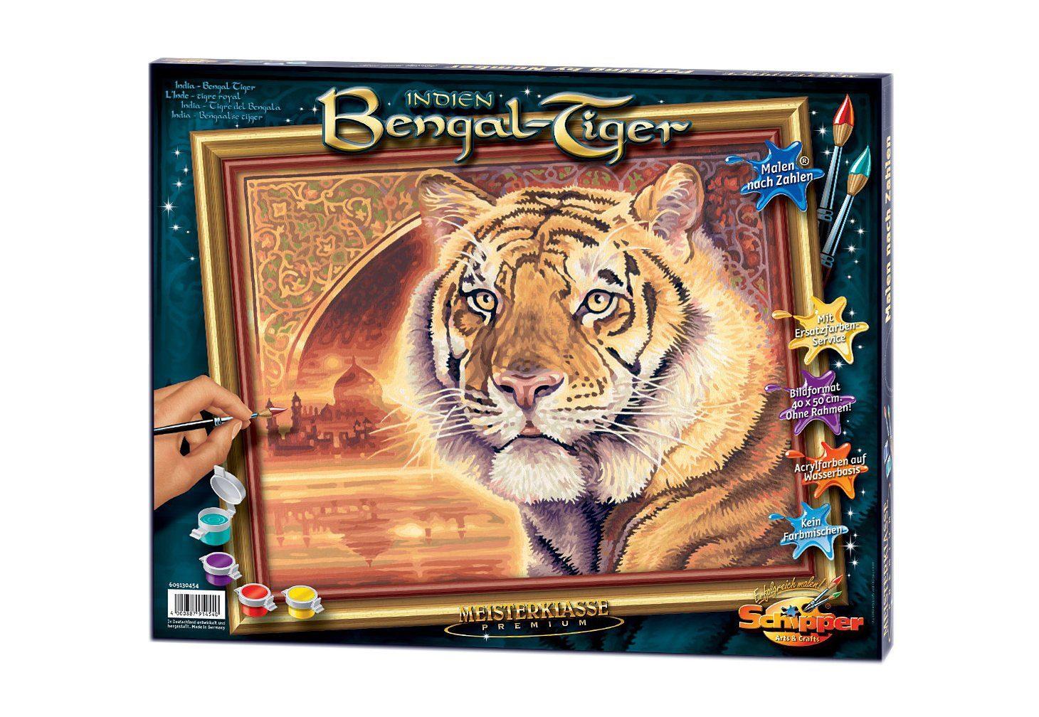 Schipper, Malen nach Zahlen, »Bengal-Tiger«