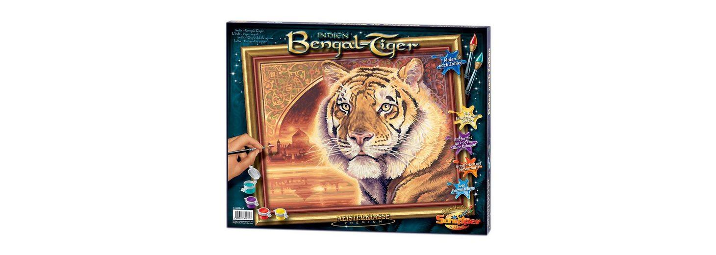 Malen nach Zahlen, Schipper, »Bengal-Tiger«
