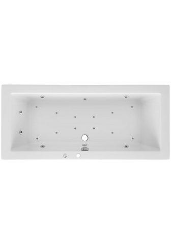 OTTOFOND Whirlpool-Badewanne »Cubic« (Komplett-...