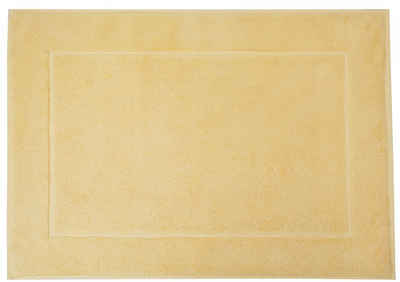 Badematte »Uni Basic« framsohn frottier, Höhe 11 mm, beidseitig nutzbar, reine Baumwolle