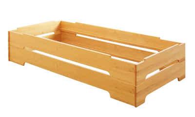 BioKinder - Das gesunde Kinderzimmer Stapelbett »Kai«, 2er Set 90x200 cm Gästebett