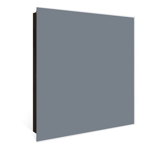 banjado Schlüsselkasten »Farbe Silber«, 30 cm x 30 cm