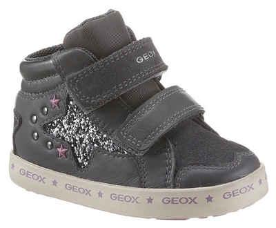 Geox Kids »B Kilwi Girl« Lauflernschuh mit Glitter-Stern