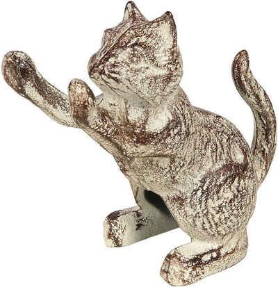 Ambiente Haus Tierfigur »Tuerstopper aus Gusseisen - Katze« (1 Stück)