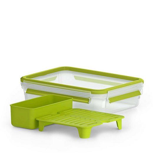 Emsa Lunchbox »Brunchbox Clip Go«, Kunststoff, (4-tlg)