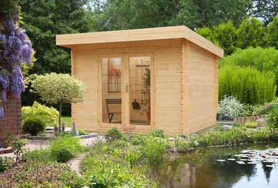 Kiehn-Holz Gartenhaus »Plön«, BxT: 313x368 cm