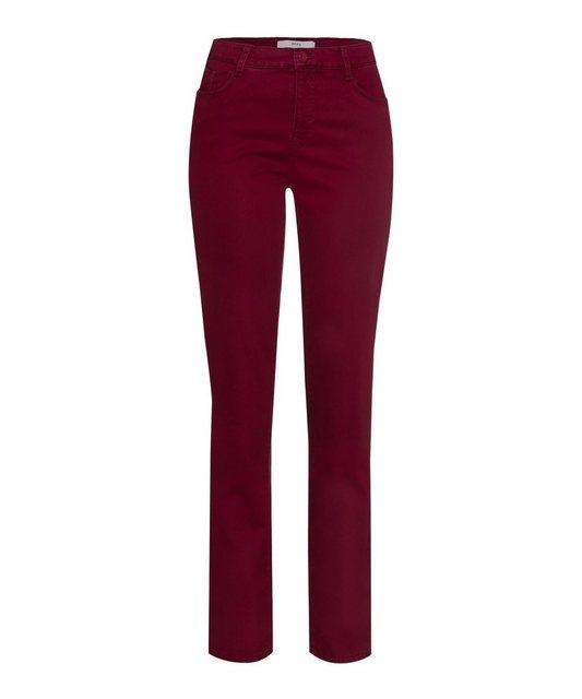 Hosen - Brax 5 Pocket Hose »Style Mary« › rot  - Onlineshop OTTO