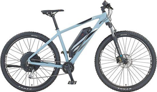 Prophete E-Bike, 9 Gang Shimano Alivio Schaltwerk, Kettenschaltung, Heckmotor 250 W